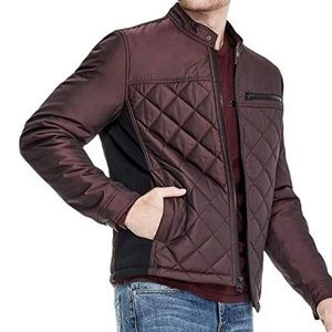 Mens Nylon Quilted Jacket